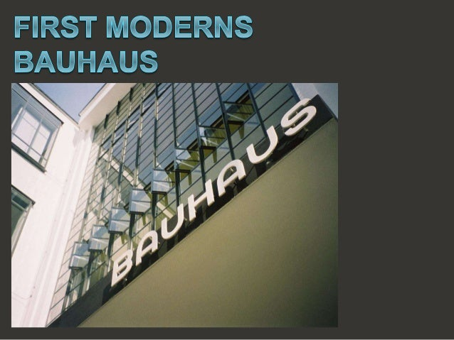 new moderns deutsche werkbund bauhaus expressionism. Black Bedroom Furniture Sets. Home Design Ideas