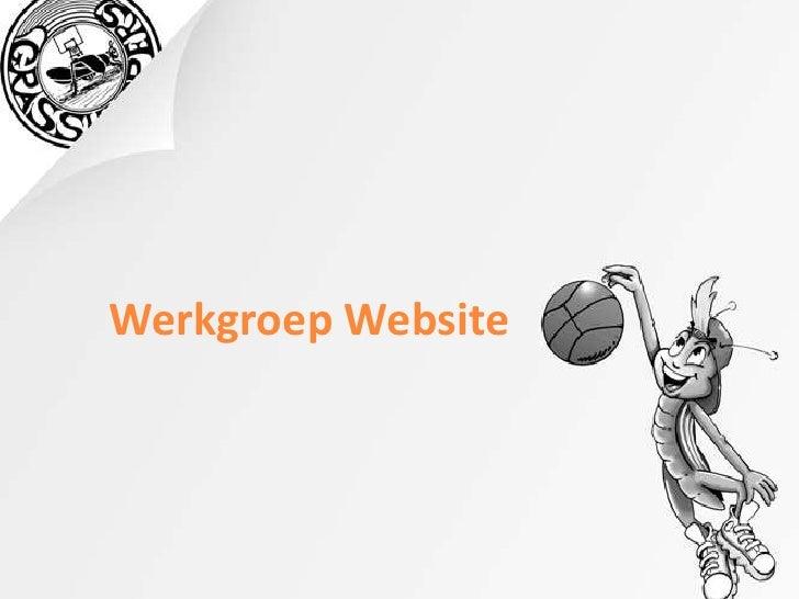 Werkgroep Website<br />