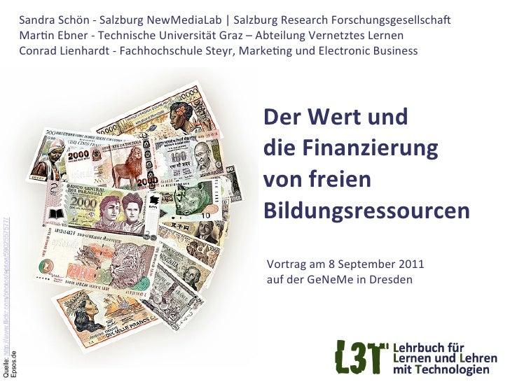 Sandra Schön -‐ Salzburg NewMediaLab | Salzburg Research ForschungsgesellschaF  MarGn Ebner -‐ ...