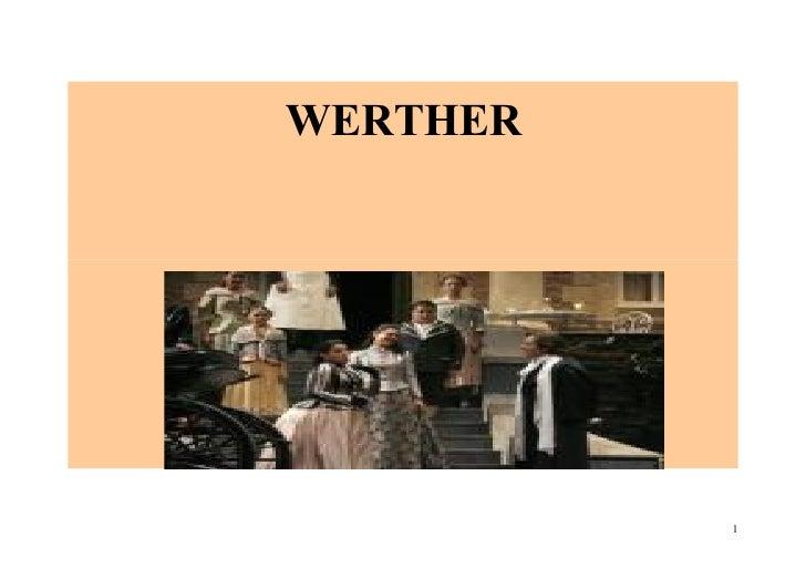 WERTHER               1