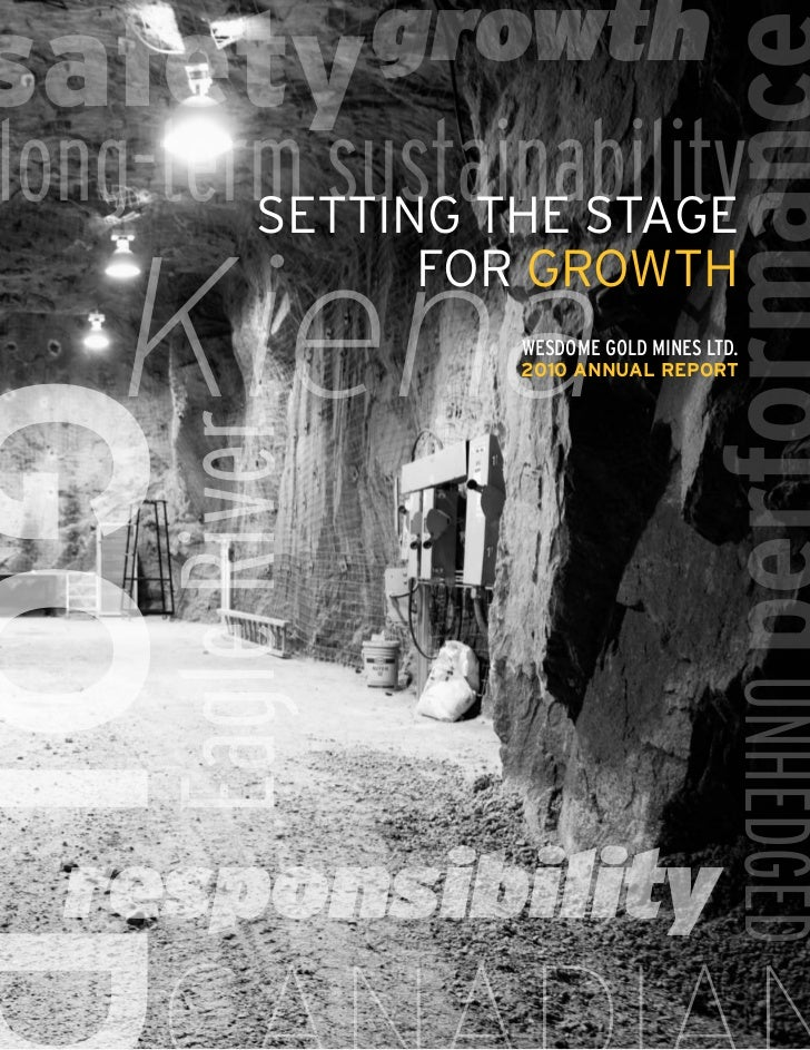 safety growthlong-term sustainability        Setting the Stage    Kiena                   for growth                      ...