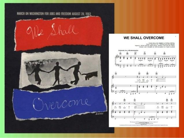 They have overcame ! We shall overcome – Paroles et Musique : Pete SEEGER – Interprète : Joan BAEZ – Conception et réalisa...