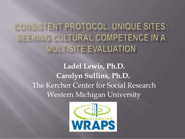 Ladel Lewis, Ph.D. Carolyn Sullins, Ph.D. The Kercher Center for Social Research Western Michigan University