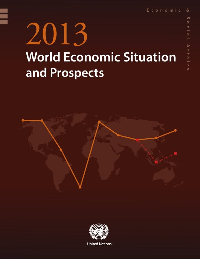 World Economic Situation and Prospects 2013 (WESP)