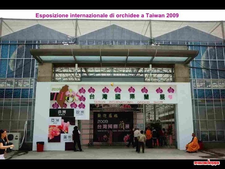 Esposizione internazionale di orchidee a Taiwan 2009