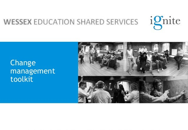 Wessex education shared services change toolkit
