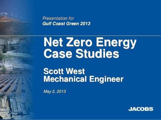 Net-Zero Energy Case Studies