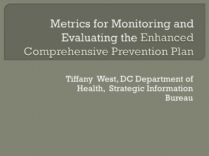 Tiffany West, DC Department of   Health, Strategic Information                          Bureau