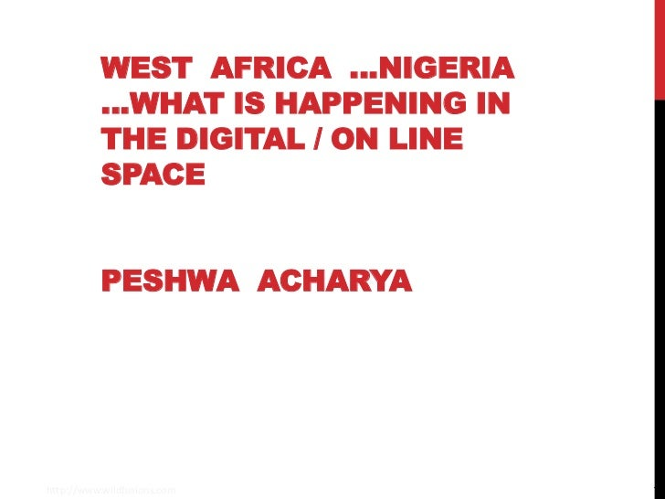 West africa online space