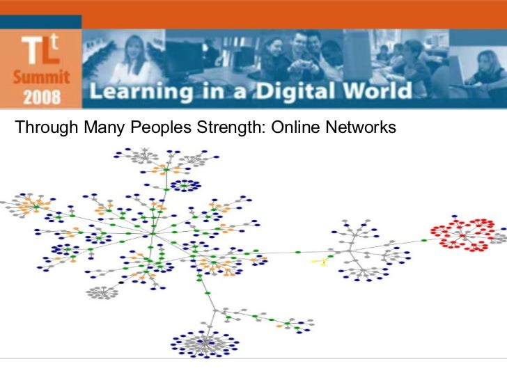 Through Many Peoples Strength: Online Networks