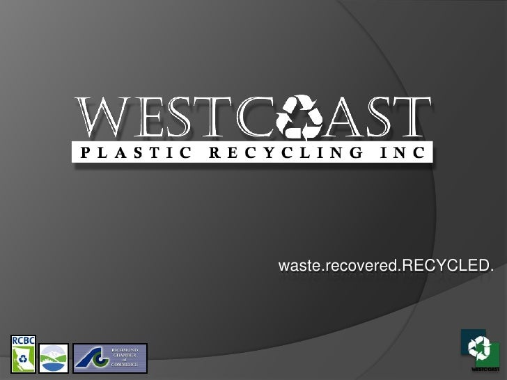 waste.recovered.RECYCLED.<br />