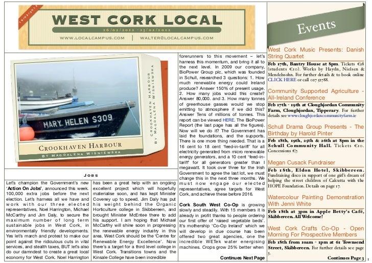 West cork local 16th - 23rd feb 2012