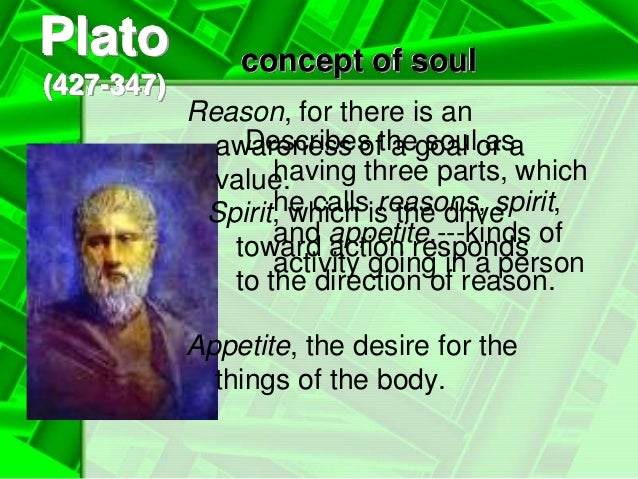 does plato's concept of the soul Plato: the republic since the mid-nineteenth century, the republic has been plato's most famous and widely read dialogue as in most other platonic dialogues the main character is socrates.