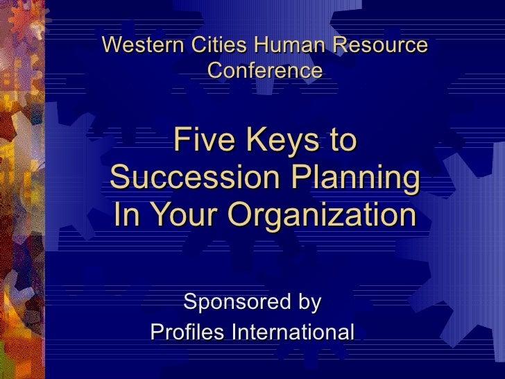 Western cities succession Presentation