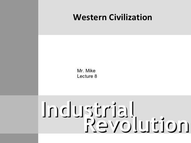Western Civilization lecture 8