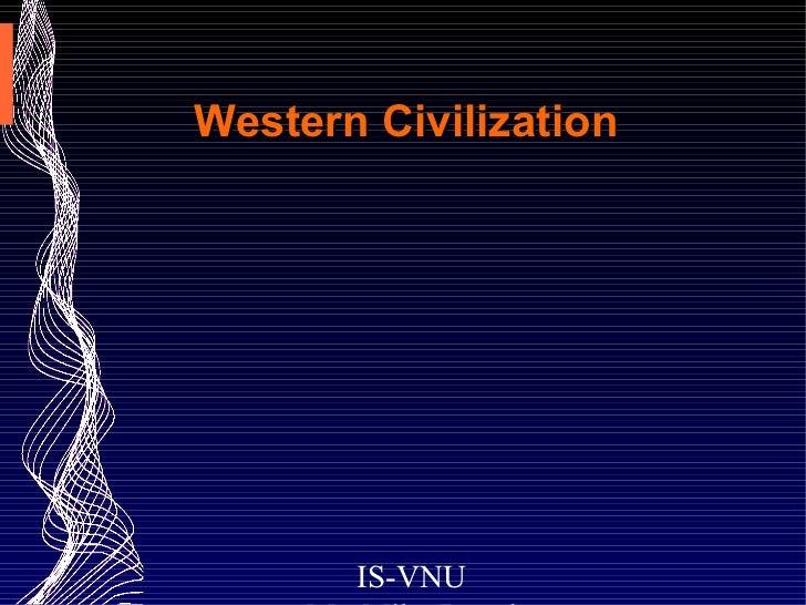 Western Civilization Lecture 3