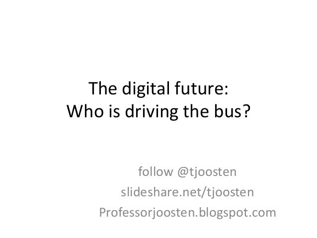 Keynote, Who is driving the bus?