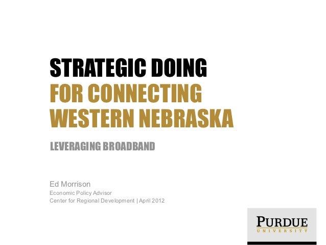 Promoting Rural Innovation in Western Nebraska
