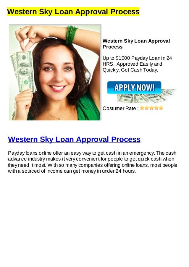 Western Sky Loans >> Western sky loan approval process