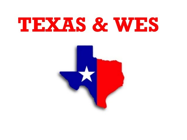 Wes texas power point