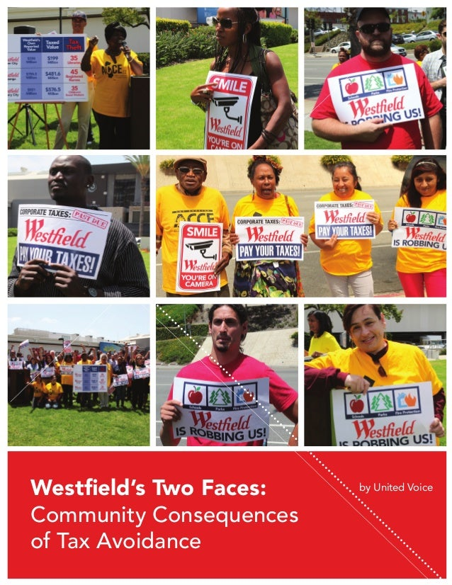 Westfield's Two Faces: Community Consequences of Tax Avoidance  by United Voice