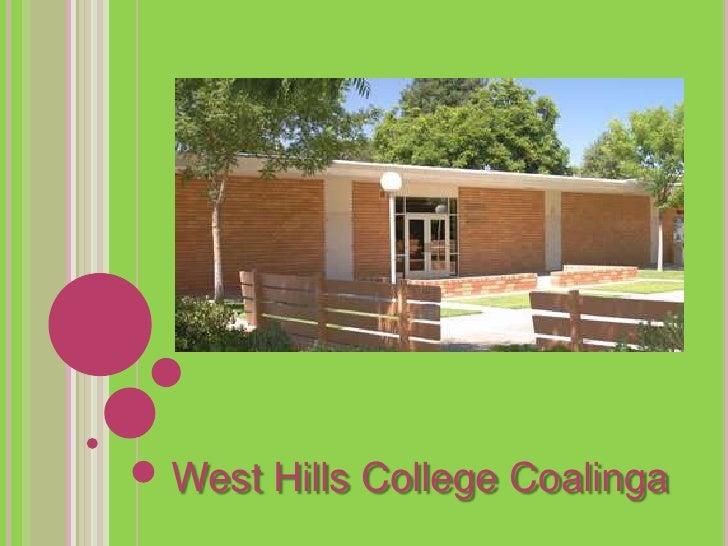 West hills community college 2