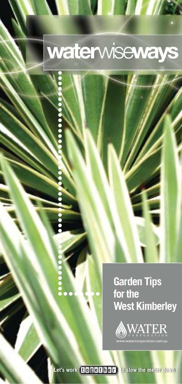 Garden Tips for the West Kimberley