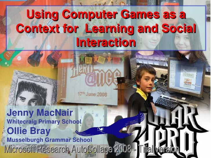 Box          Using Computer Games as a                 Context for Learning and Social     Games Based Learning           ...