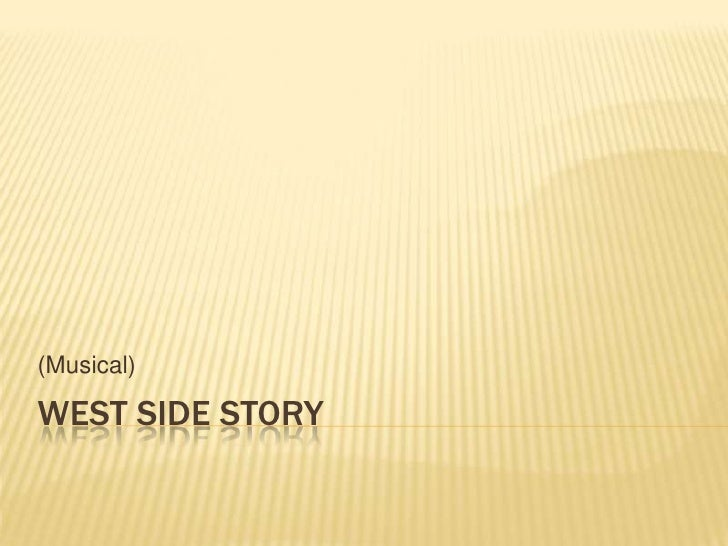 (Musical)WEST SIDE STORY