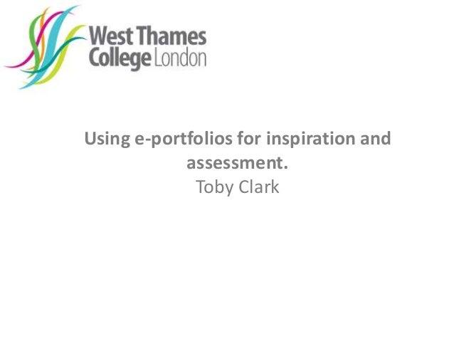 West Thames College: e-Portfolios