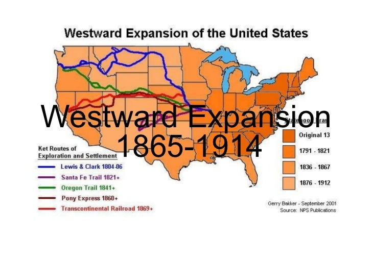 Westward expansion terms
