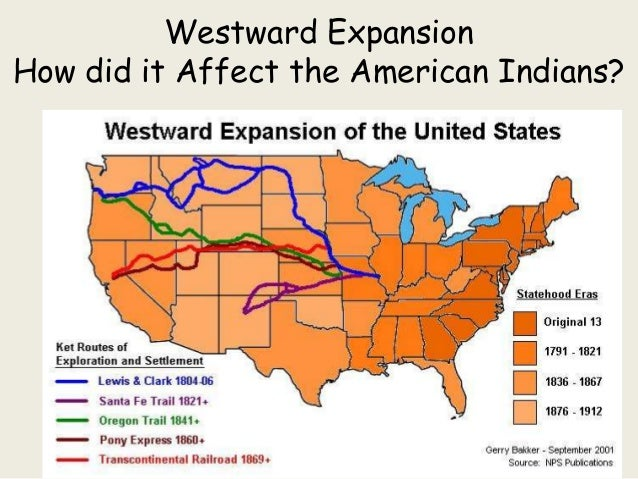 Westward ExpansionHow did it Affect the American Indians?