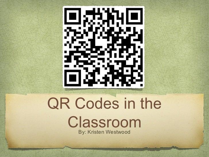Westwood qr code presentation