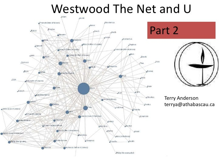 Westwood Unitarian And The Net Part 2