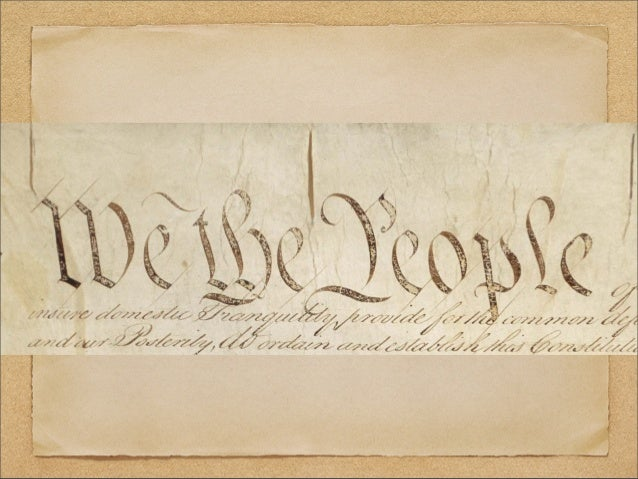 The U.S. Constitution session i Rights of Englishmen