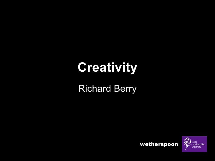Creativity Richard Berry