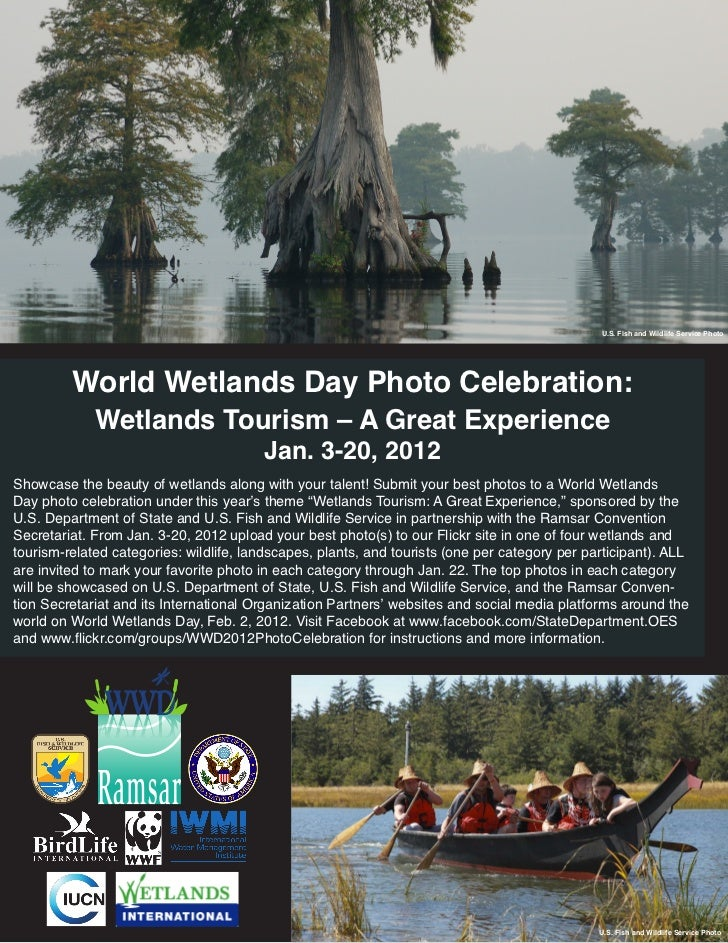 U.S. Fish and Wildlife Service Photo         World Wetlands Day Photo Celebration:             Wetlands Tourism – A Great ...