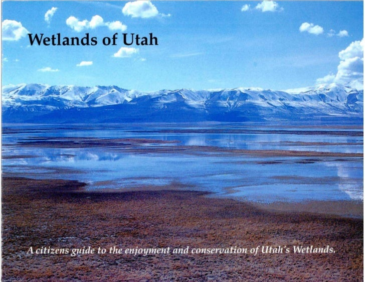 Utah Citizens Guide to Wetlands
