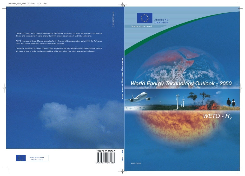 World Energy Technology Outlook - 2050   WETO - H2
