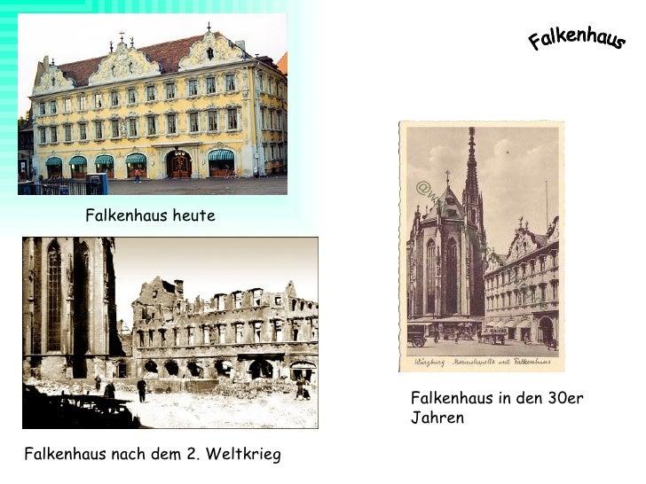 Falkenhaus in den 30er Jahren Falkenhaus heute Falkenhaus nach dem 2. Weltkrieg