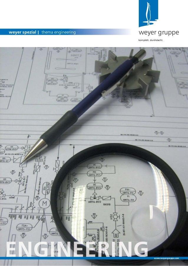 Engineering | weyer spezial