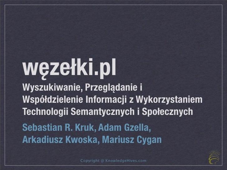 węzełki.pl - knowledge sharing portal on Web 3.0