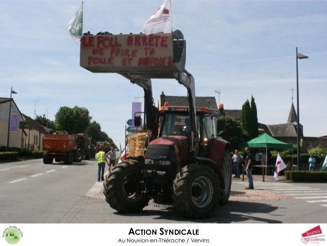 ACTION SYNDICALE Au Nouvion-en-Thiérache / Vervins