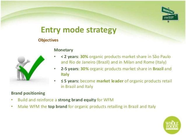 Whole Foods Market Strategic Objectives