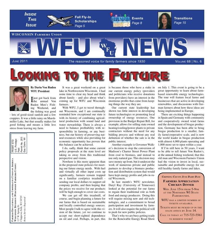 WFU June 2011 News