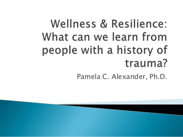 Pamela C. Alexander, Ph.D.