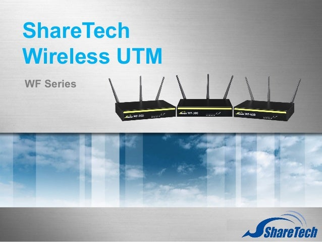 ShareTech WiFi UTM