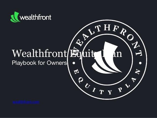 Wealthfront Equity Plan
