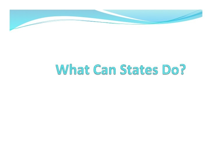 Swackhamer - What Can States Do: Lessons from the California Green Chemistry Initiative