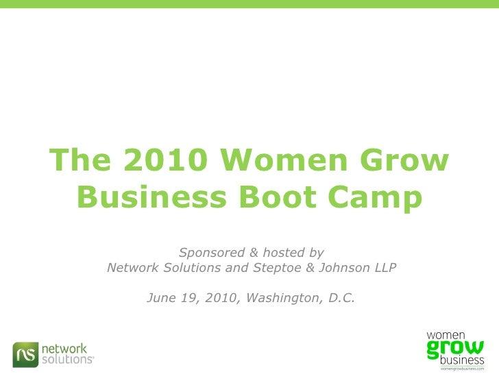 Building Blocks: Marissa Levin's presentation at the #wgbiz Boot Camp